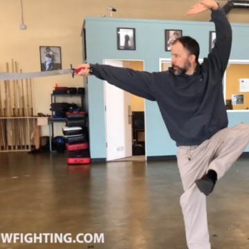 Yang Style Tai Chi Saber Warm ups and Introduction